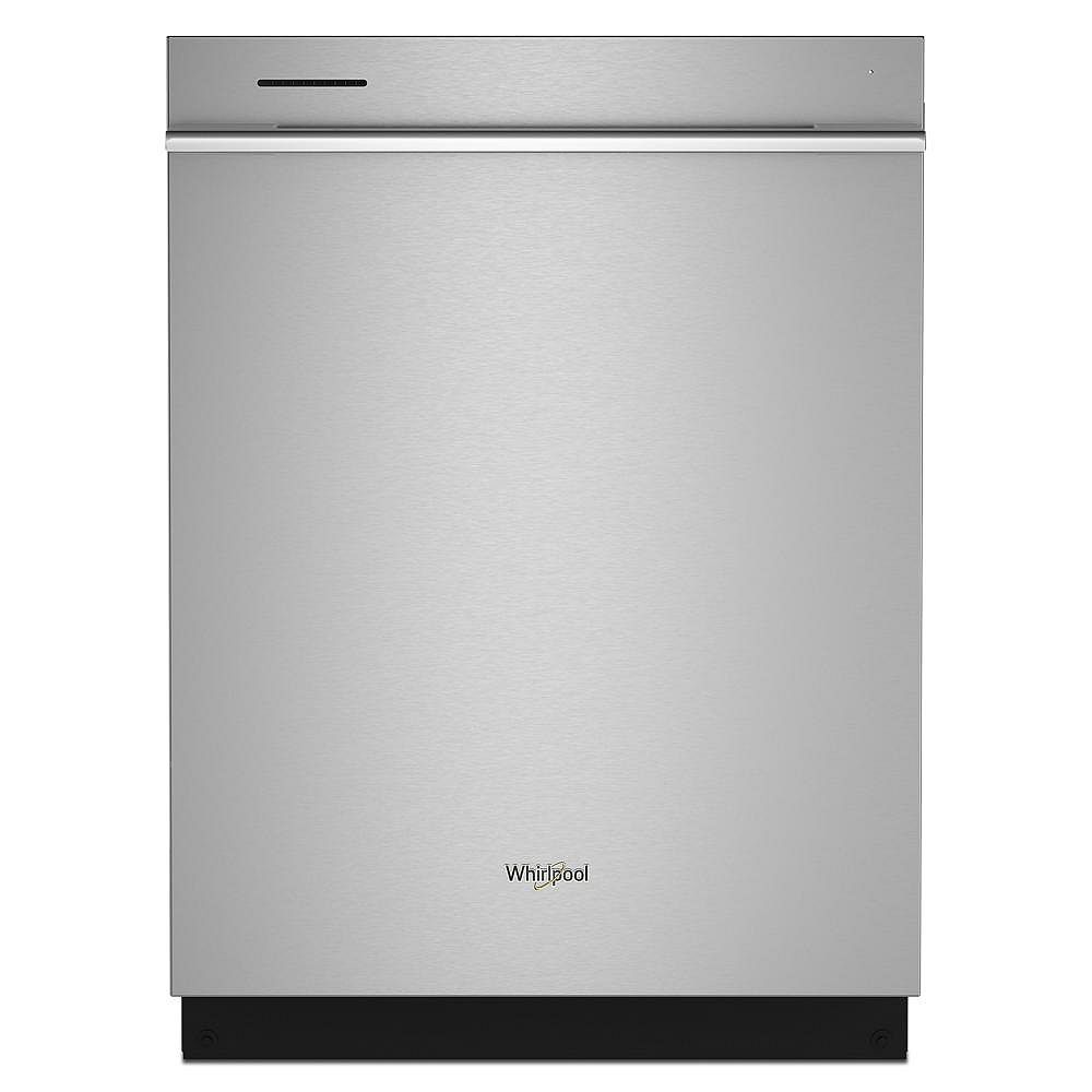 Whirlpool Dishwasher WDTA80SAKZ in Stainless Steel color showcased by Corbeil Electro Store