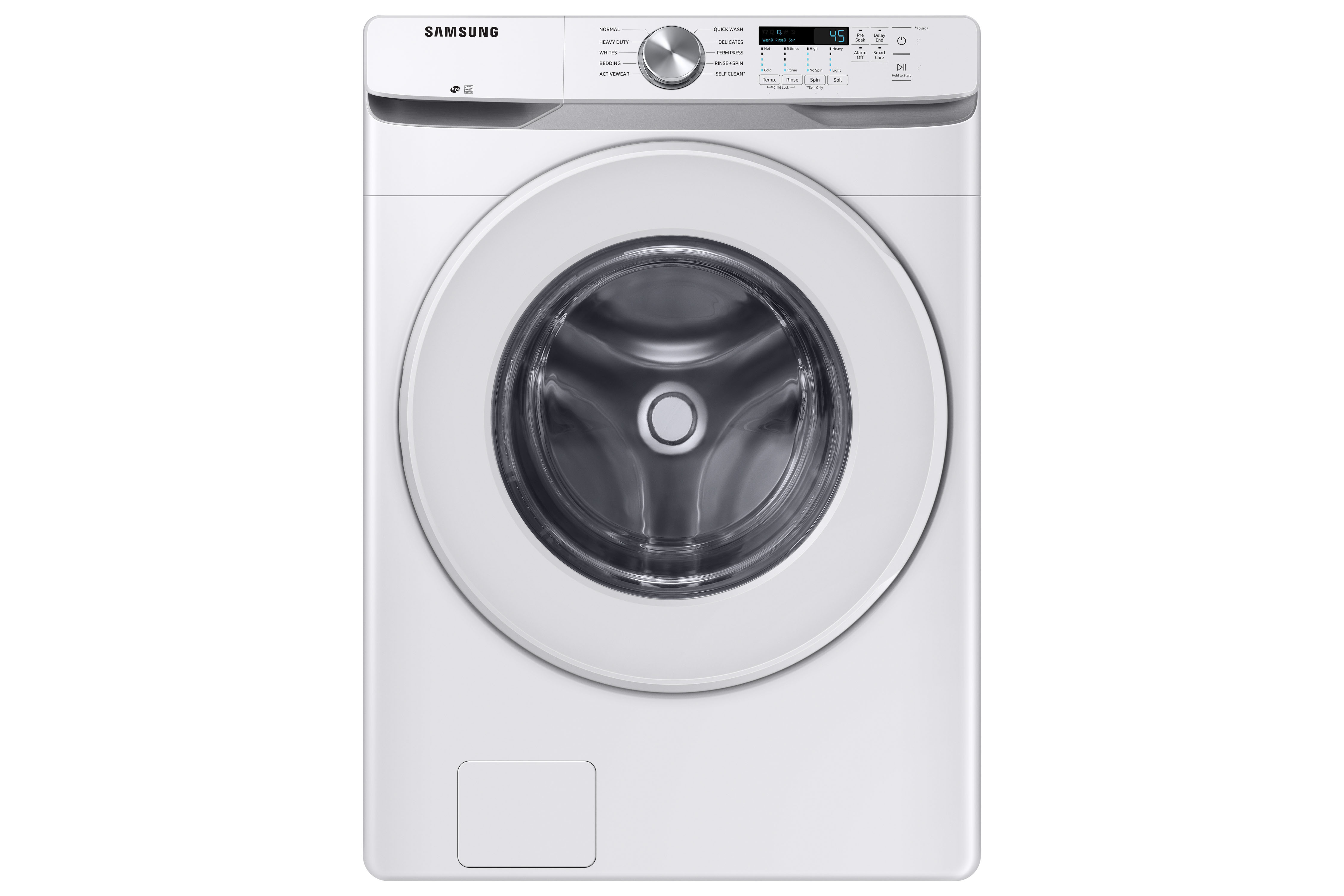 Samsung Washer in White color showcased by Corbeil Electro Store
