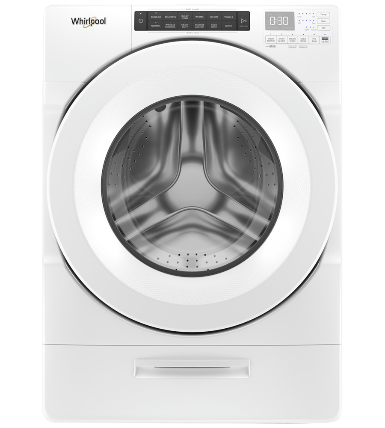 Laveuse Whirlpool en couleur Blanc présenté par Corbeil Electro Store
