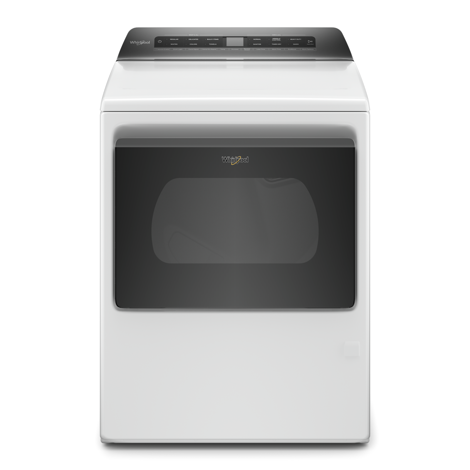 Whirlpool Dryer WGD6120HW in White color showcased by Corbeil Electro Store