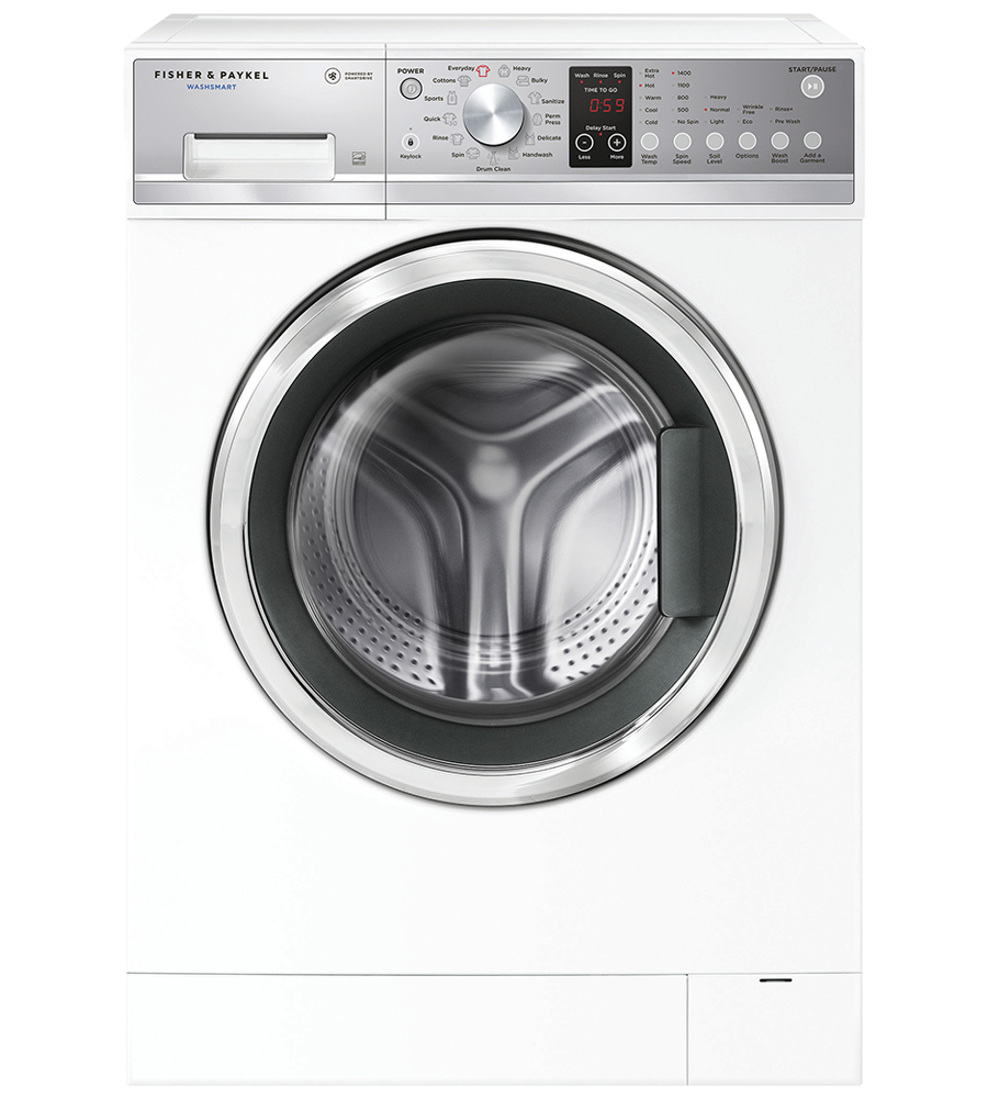 Fisher and Paykel Washer 24 White WH2424P1