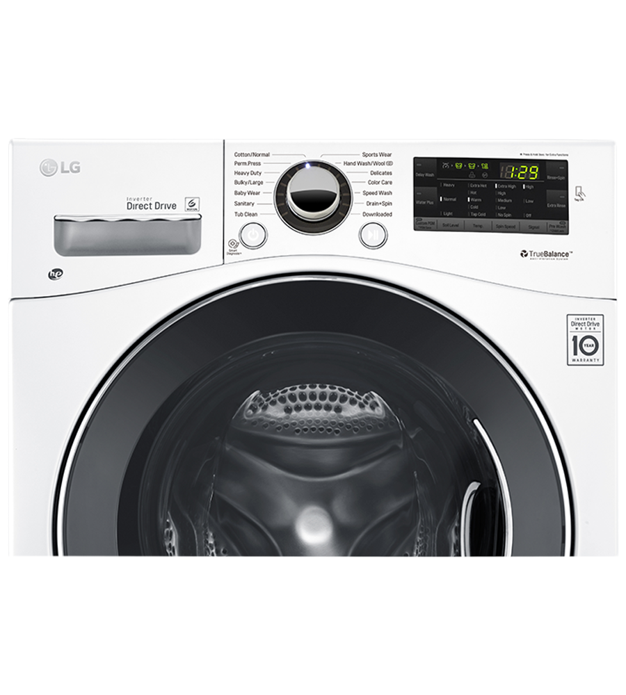 LG Washer 24 White WM1388HW