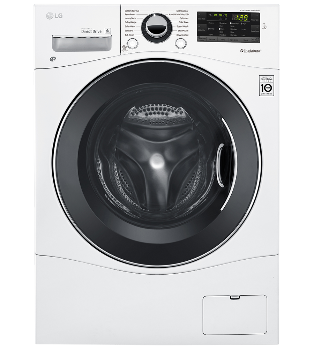 LG Washer 24 White WM1388HW