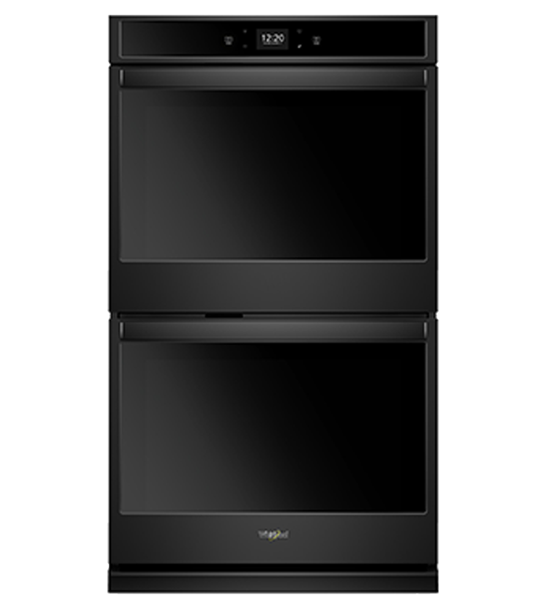 Whirlpool Wall oven in Black color showcased by Corbeil Electro Store