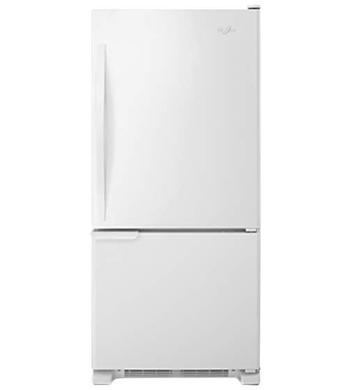 Réfrigérateur Whirlpool en couleur Blanc présenté par Corbeil Electro Store