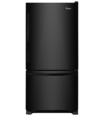 Réfrigérateur Whirlpool en couleur Noir présenté par Corbeil Electro Store