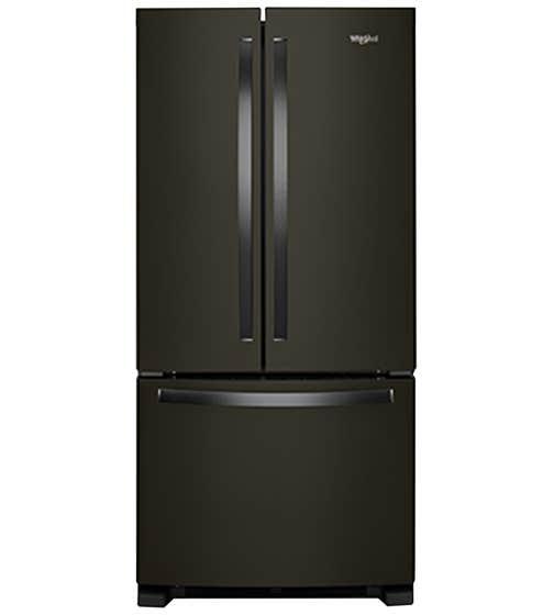 Whirlpool Refrigerateur 33 WRF532SNH en couleur Acier Inoxydable Noir présenté par Corbeil Electro Store