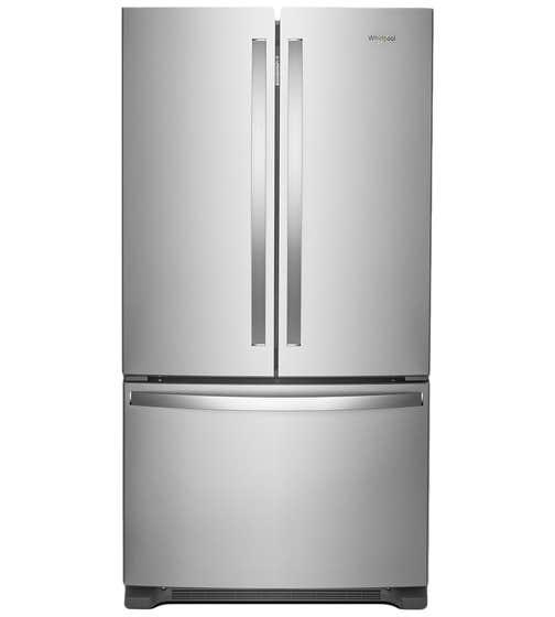 Whirlpool Refrigerateur 36 WRF535SWH en couleur Acier Inoxydable présenté par Corbeil Electro Store