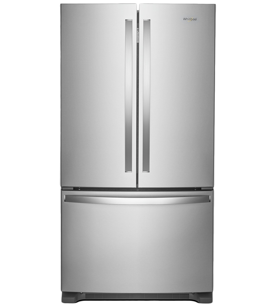 Whirlpool Refrigerator 36 WRF540CWH in Stainless Steel color showcased by Corbeil Electro Store