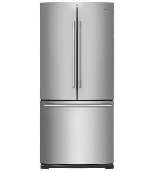 Whirlpool Refrigerateur 30 WRFA60SFH en couleur Acier Inoxydable présenté par Corbeil Electro Store