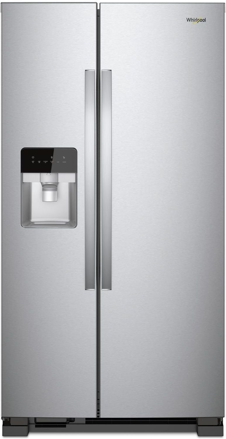 Whirlpool Refrigerator showcased by Corbeil Electro Store