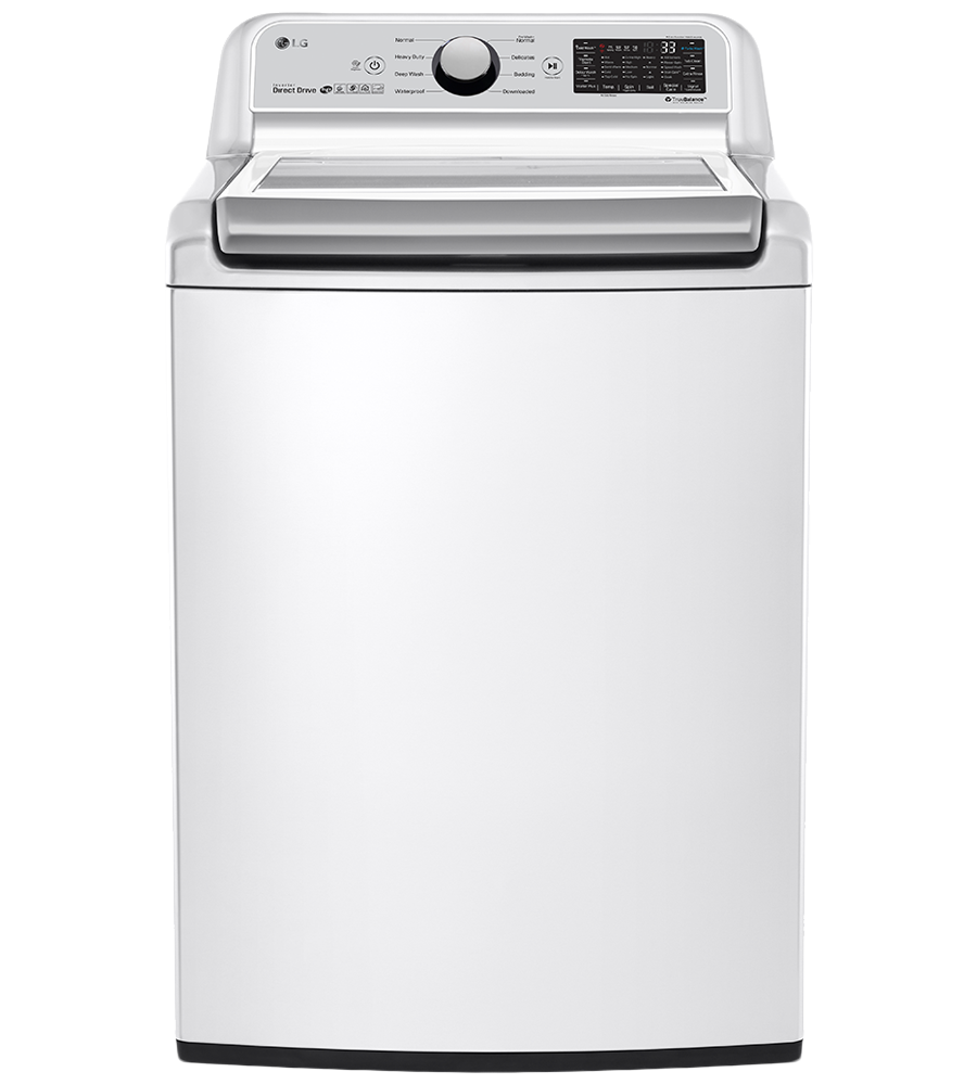 LG Washer 27 WT7300C showcased by Corbeil Electro Store