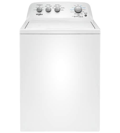 Whirlpool Laveuse 27 Blanc WTW4855HW en couleur Blanc présenté par Corbeil Electro Store