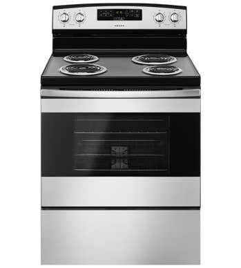 Amana Cuisiniere 30 YACR4303MF en couleur Noir sur Inox présenté par Corbeil Electro Store