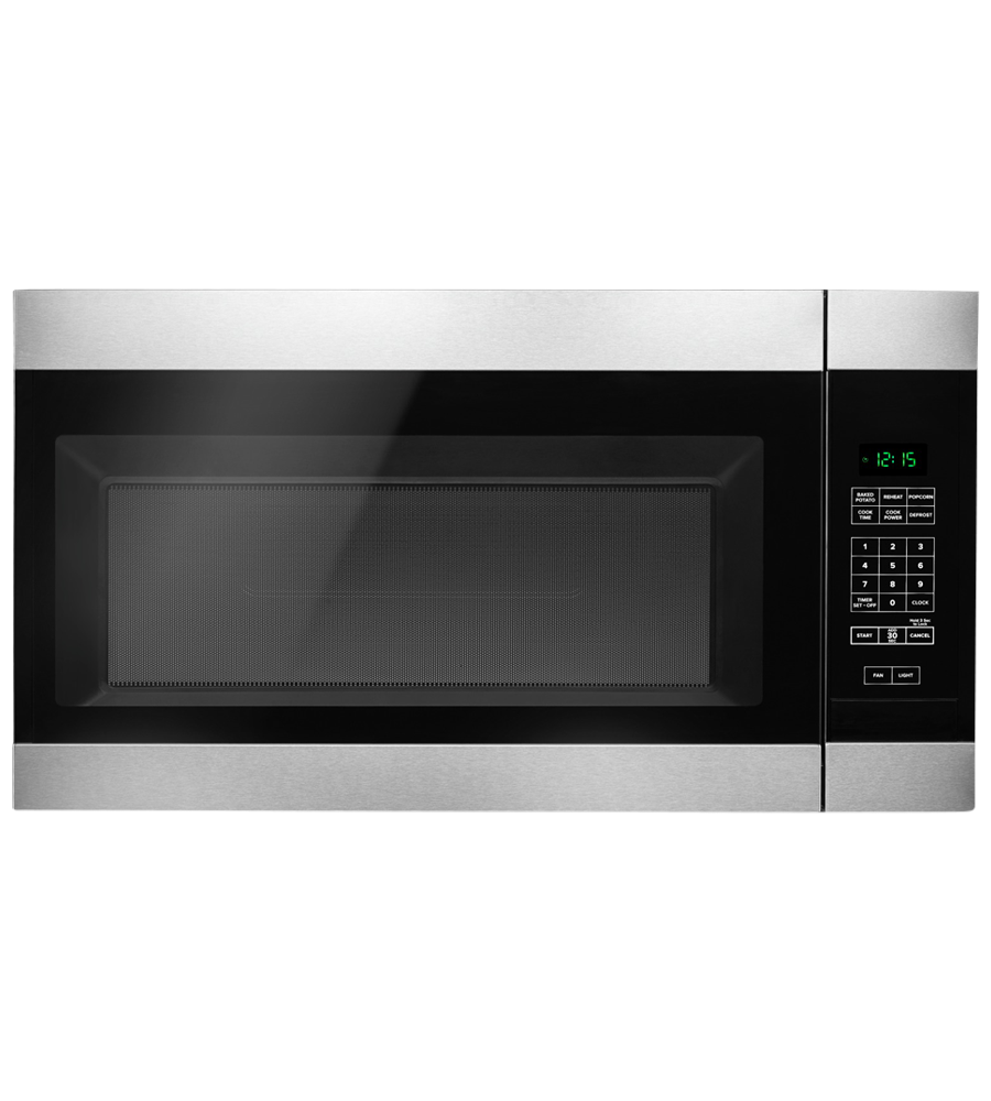Amana Over-the-range Microwave 30 YAMV2307PF showcased by Corbeil Electro Store
