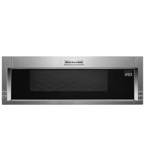 KitchenAid Micro-onde 30 YKMLS311H en couleur Acier Inoxydable présenté par Corbeil Electro Store