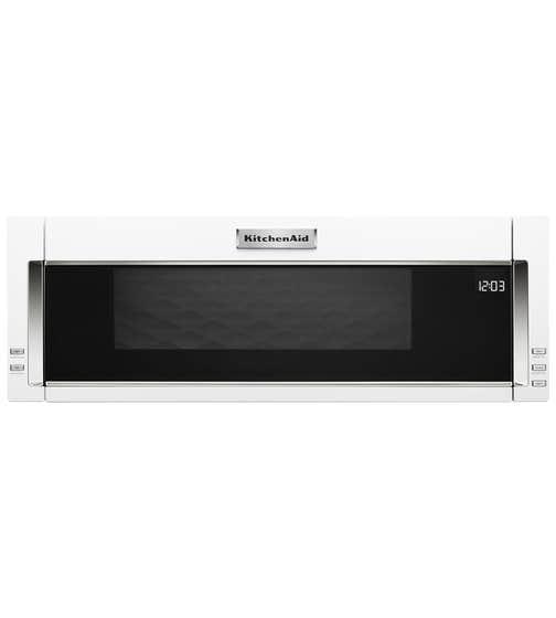 KitchenAid Micro-onde 30 YKMLS311H en couleur Blanc présenté par Corbeil Electro Store
