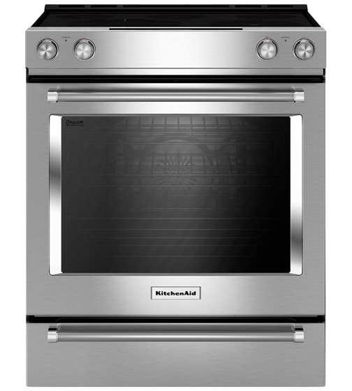 KitchenAid Range 30 YKSEB900E showcased by Corbeil Electro Store