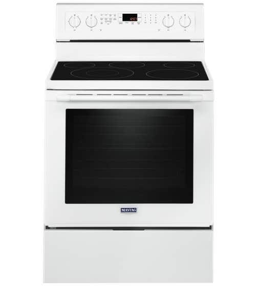 Maytag Cuisiniere 30 YMER8800F en couleur Blanc présenté par Corbeil Electro Store