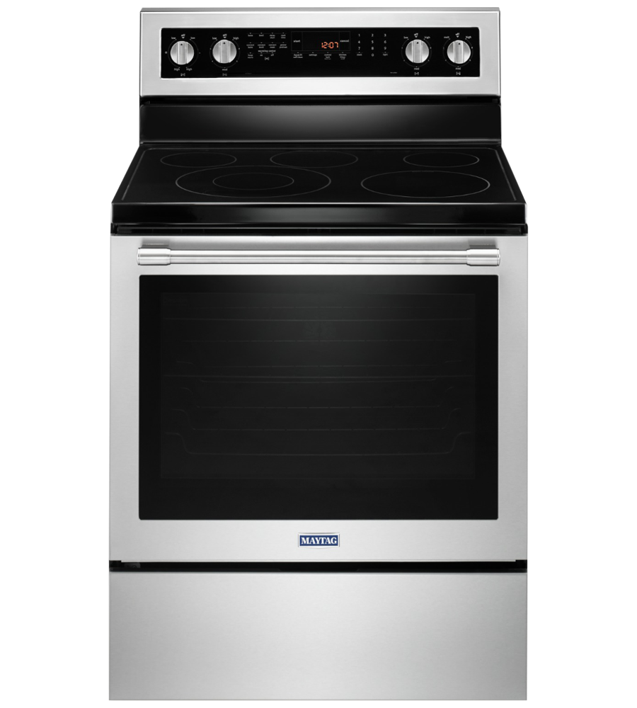 Maytag Range 30 YMER8800F showcased by Corbeil Electro Store