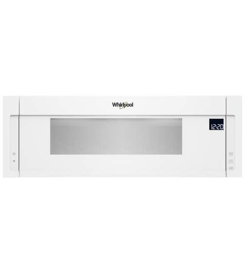 Whirlpool Micro-onde hotte 30 en couleur Blanc présenté par Corbeil Electro Store