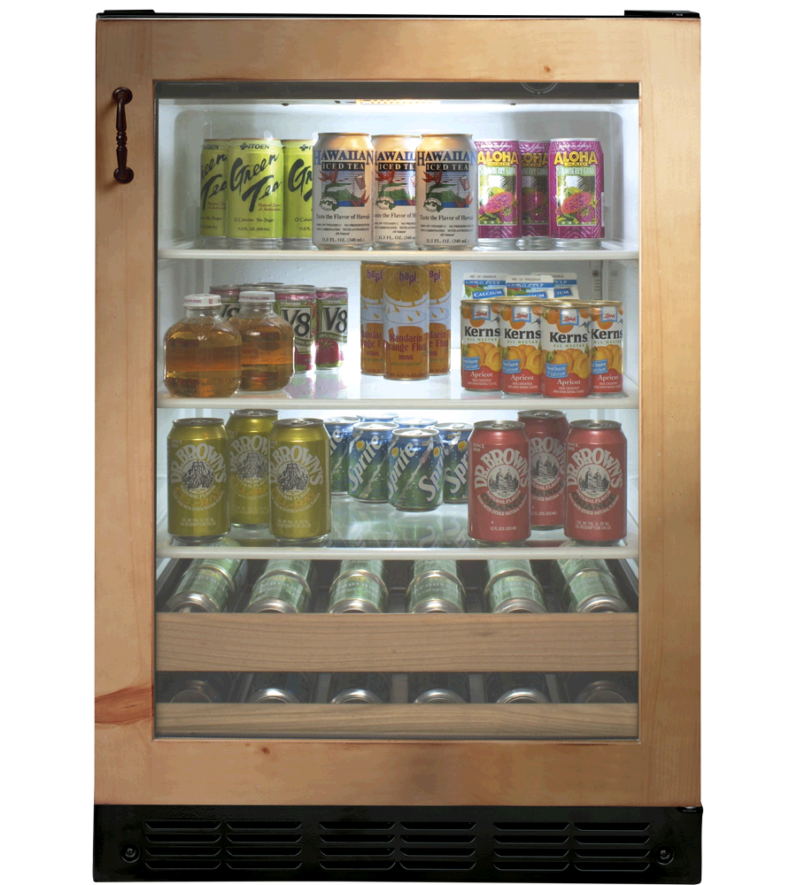 Monogram Beverage Center in Pannel-Ready color showcased by Corbeil Electro Store