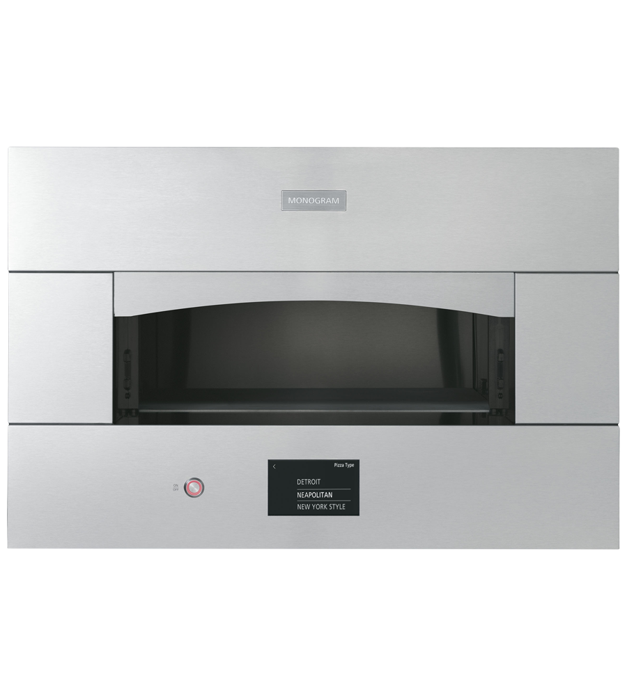 Monogram Wall Oven in Stainless Steel color showcased by Corbeil Electro Store