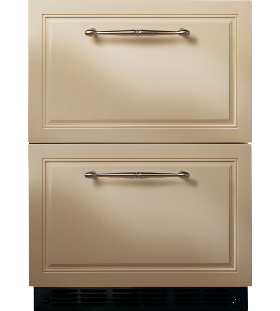 Monogram Refrigerator in Pannel-Ready color showcased by Corbeil Electro Store